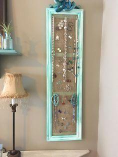 DIY Jewelry Organizer   The Home Depot Community #jewelryrepair