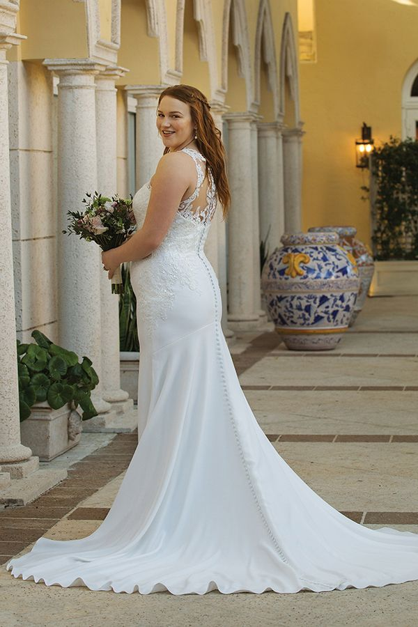 99d089746a13c Pin by My Info on Plus Size Bridal Gowns