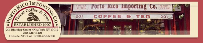 Porto Rico Importing Co. has amazing coffee, if you are ever in NYC stop by.  In the meantime the big Spring Sale starts April 15 and I am counting down the days!  Getting coffee in the mail is totally worth a countdown.