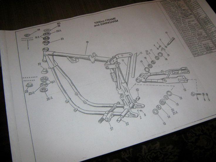 17 Best Images About Harley Davidson Engine Blueprint