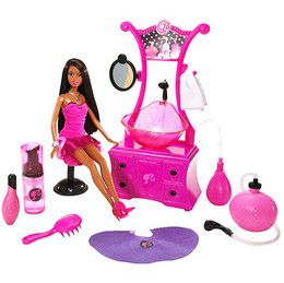 barbie hair salon playset | Barbie Hair Salon Games on Compare Prices On Mattel Barbie Style Salon ...