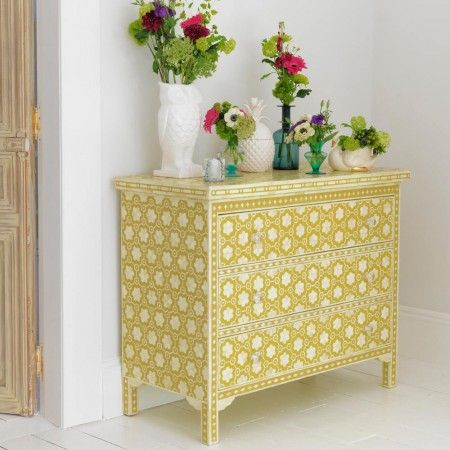 Mio Chest of Drawers in Yellow - View All Furniture - Furniture - Furniture