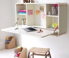 Resultados de la Búsqueda de imágenes de Google de http://homeklondike.com/wp-content/uploads/2011/03/11-bedroom-ideas-for-teenage-girls-wall-mounted-desk.jpg