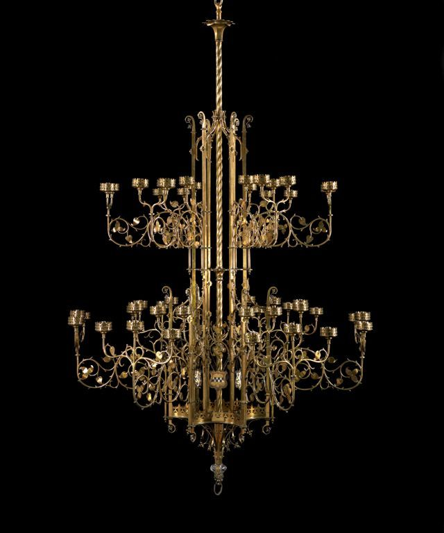 1852 British Chandelier at the Art Institute of Chicago, Chicago - This is  an absolutely - 162 Best Candelabros Images On Pinterest Antique Chandelier