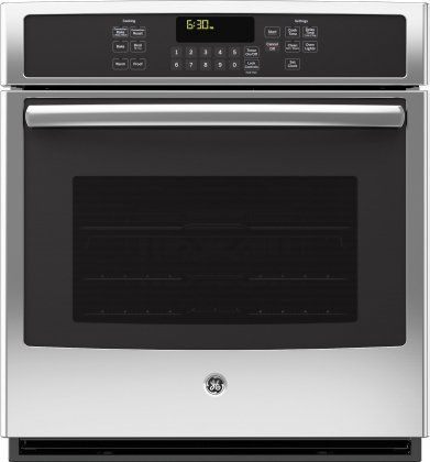 """GE JK5000SFSS 27"""" Stainless Steel Electric Single Wall Oven - Convection"""