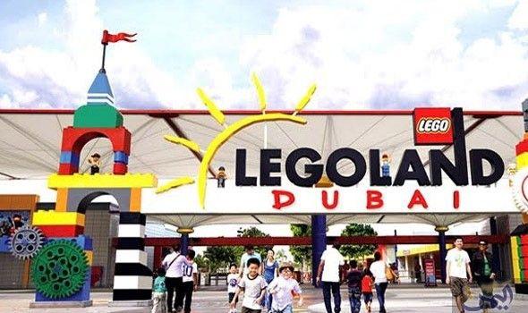 ليجولاند دبي تستعد لاستقبال الضيوف خلال شهر رمضان المبارك Legoland Fun Slide Outdoor Decor
