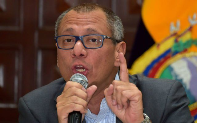 Ecuadors Vice President Jorge Glas was to constitutionally lose his title late Tuesday because he has been absent for more than three months  locked up in prison on a six-year sentence for corruption.  Glas 48 is the highest-ranking Latin American politician to be convicted and imprisoned for his role in a continent-wide scandal involving a Brazilian construction group Odebrecht which gave bribes to secure public works contracts.  He was given his six-year sentence on December 13 by Ecuadors…