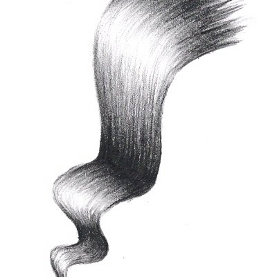 How to Draw Hair. Something I'm awful at.