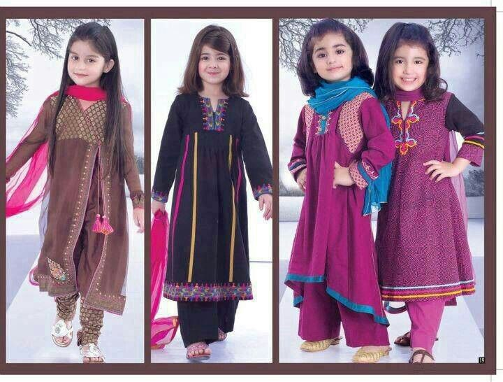 girls Pakistani frocks