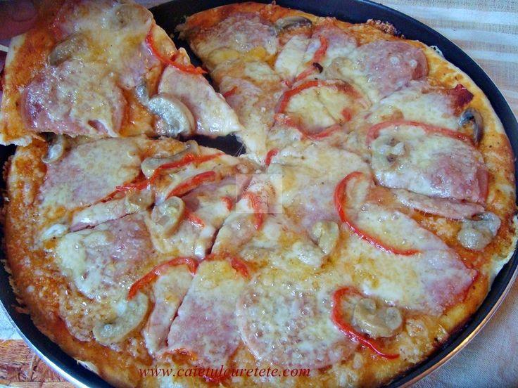 Cum se face aluatul de pizza ? | CAIETUL CU RETETE
