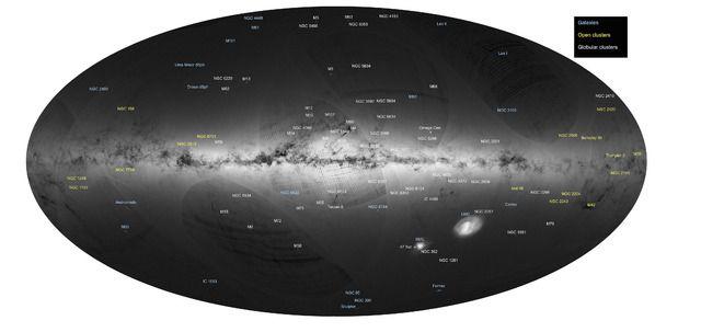 """Logran el mapa """"más grande y preciso"""" de la Vía Láctea - La Jornada"""