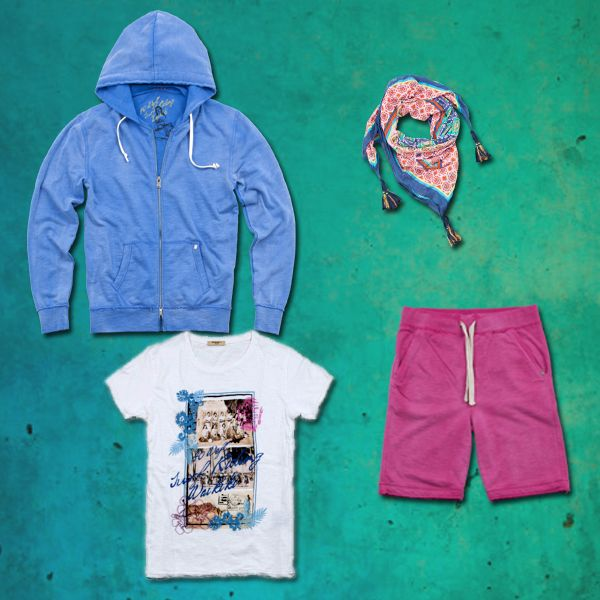 Fashion and Relax with #40weft #SS2014 #relax #tee #hoodie #scarf #menfashion #@fashionblogger #repin  what's about this outfit?
