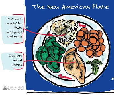The New American Plate for Weight Loss, Cancer and Chronic Disease Prevention