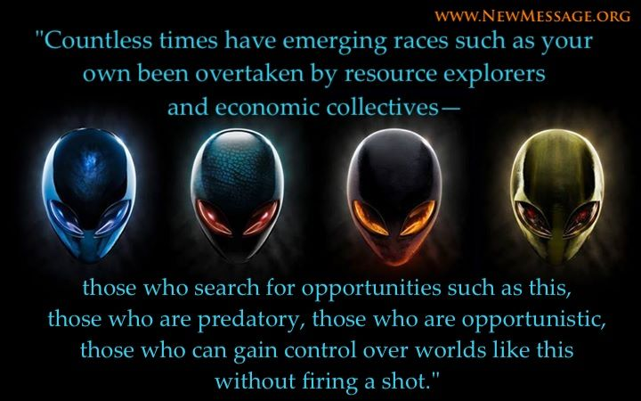 Alien intervention collectives resource explorers www.newmessage.org