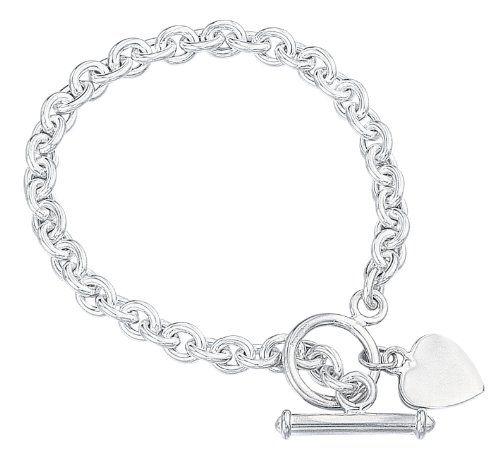 Adera 5 Bar Link Sterling Silver Bracelet of Length 21 cm q17cLw4