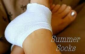 Summer socks to moisturize your heels. Cut sock where it meets the arch of your foot them slather up the lotion and slip on socks. Leave overnight and wake up to smooth feet.