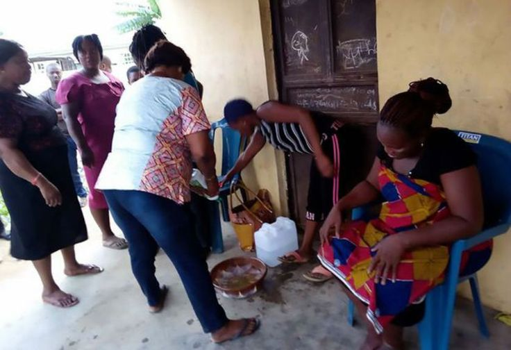Gempar, Seorang Wanita di Nigeria Melahirkan Bayi Kambing