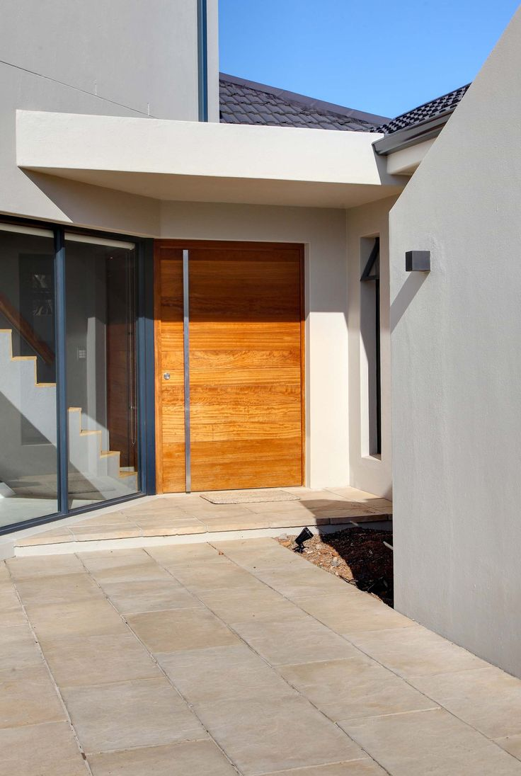 One of our favorite features of this project was the fact that the staircase finish is visible from outside.