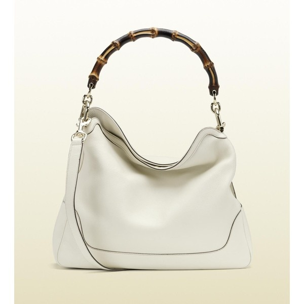 Gucci Diana Bamboo Shoulder Bag ($1,590) ❤ liked on Polyvore