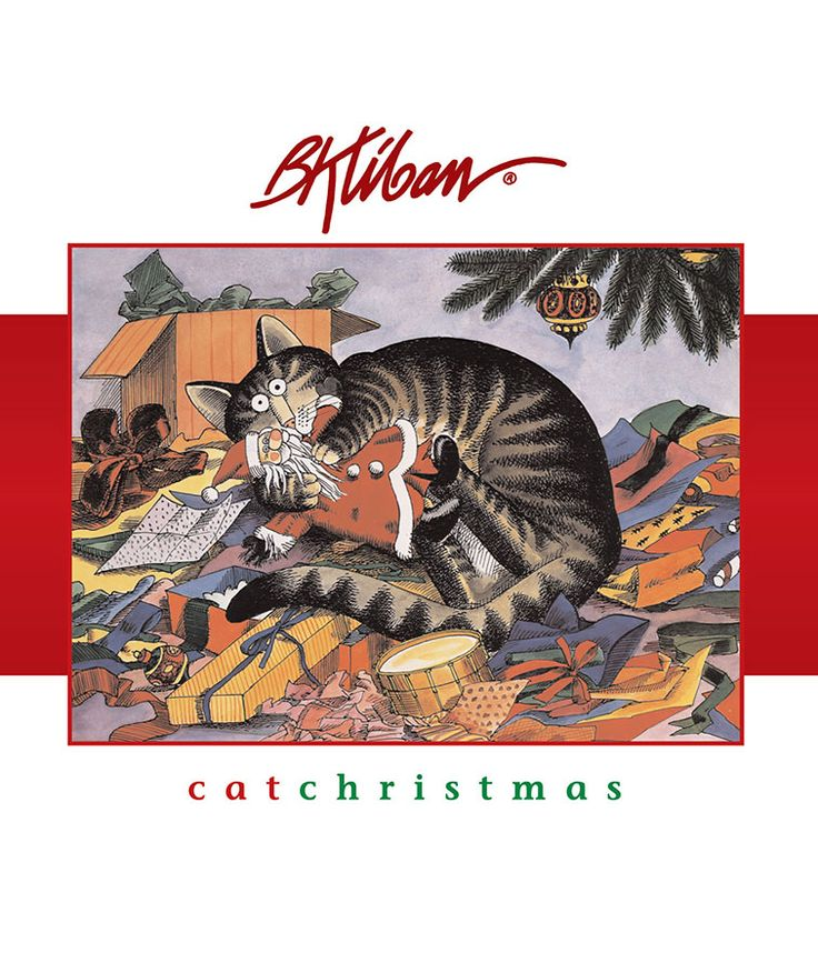 Kliban Cat Christmas Cards