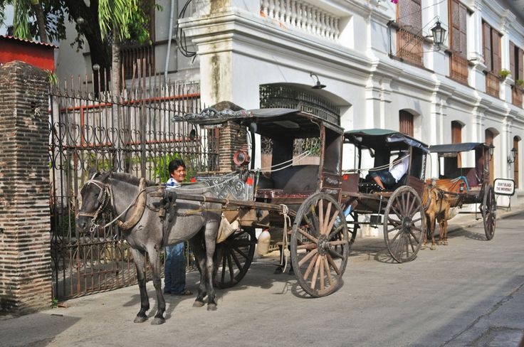 "Vigan is known to be a heritage city in the Philippines. There's no better way to take a quick peek at Vigan than a three-hour ride in a horse-driven called as ""kalesa""   http://exploretraveler.com/ http://exploretraveler.net"