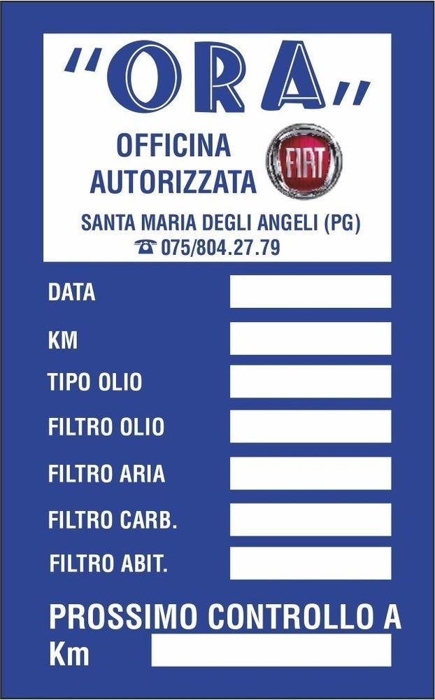1000 ETICHETTE ADESIVE PERSONALIZZATE CAMBIO OLIO FILTRI TAGLIANDO AUTO. http://stores.shop.ebay.it/ARES-di-Fortunato-Giuseppe