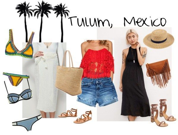 What to Wear: a Weekend in Tulum, Mexico