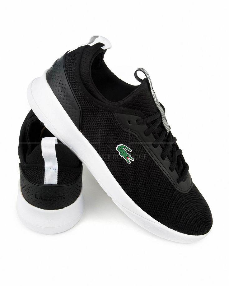 Zapatillas LACOSTE ® Spirit ✶ Negro| ENVÍO GRATIS