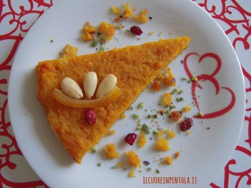 Torta di carote - Ricetta torta di carote facile con foto