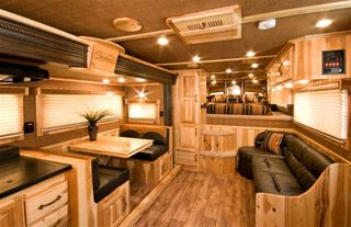 Horse Trailer Living Quarters.... dreaming...