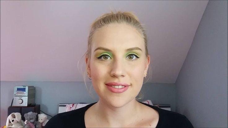 Neonové líčení / Neon make-up