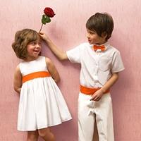 Robe et tenue de cérémonie pour enfants d'honneurs du mariage avec les Petits Inclassables