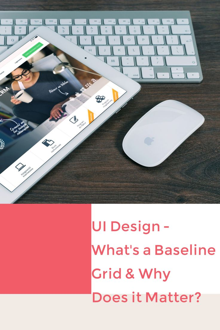 Baseline grids align your site and make the user experience that much better. Find out how from In.visio  #UIDesign #UXDesign #UX/UI