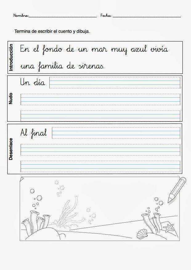 Expresión escrita. cuento                                                                                                                                                                                 Más