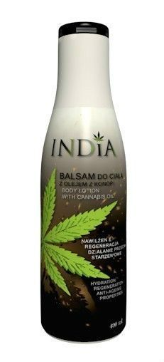 BODY BALM WITH CANNABIS OIL RECOMMENDED FOR DRY SKIN 400ml INDIA COSMETICS  #INDIACOSMETICS