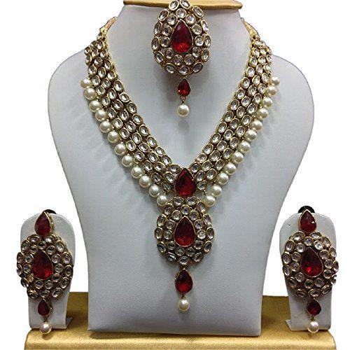 Beautiful Red Ruby White Ethnic Pearls Gold Plated Kundan... https://www.amazon.com/dp/B01J3553FO/ref=cm_sw_r_pi_dp_x_emxPyb6E8GA3Q