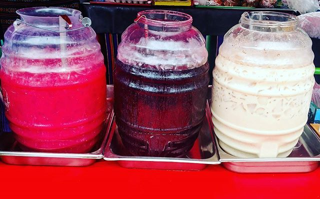 Fresh homemade Aguas!  Sandia(watermelon), Jamaica(hibiscus), Horchata (rice milk) #lajollalocals #sandiegoconnection #sdlocals - posted by Belindas Familia  https://www.instagram.com/belindasfamilia. See more post on La Jolla at http://LaJollaLocals.com