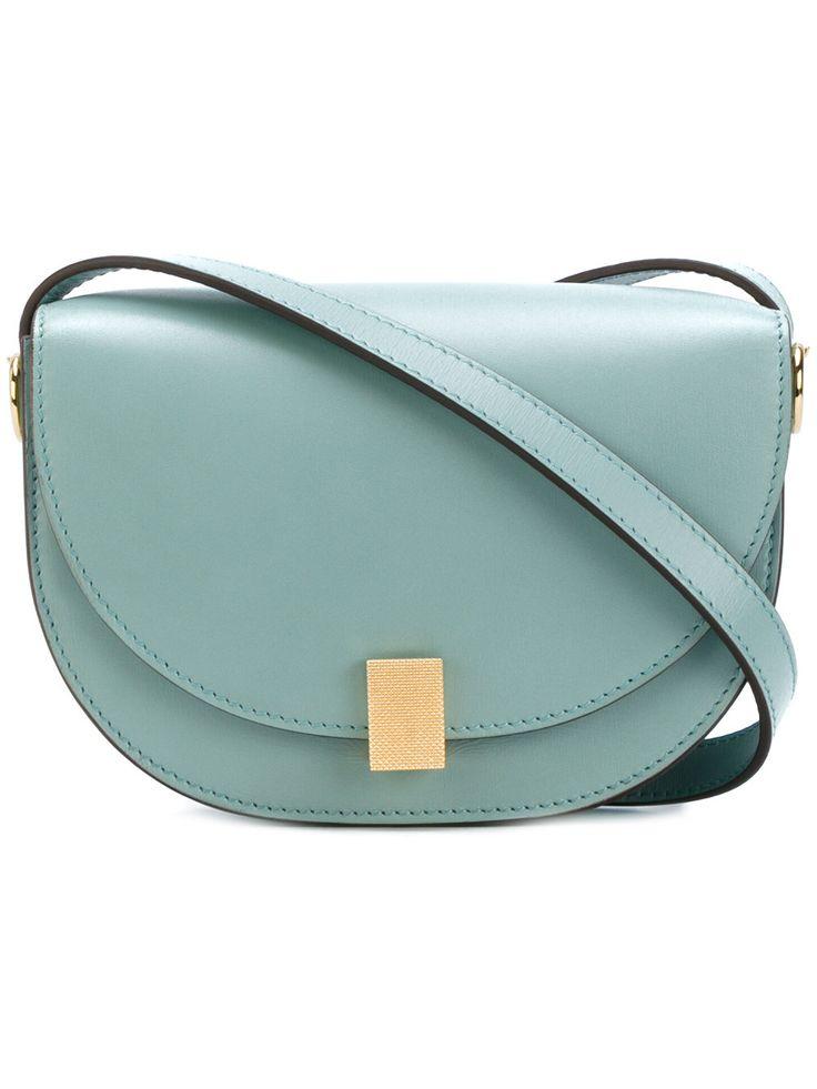 Victoria Beckham contrast satchel