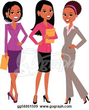 7 best professional ethnic women clipart images on pinterest rh pinterest com clip art of women golfers clipart of women walking