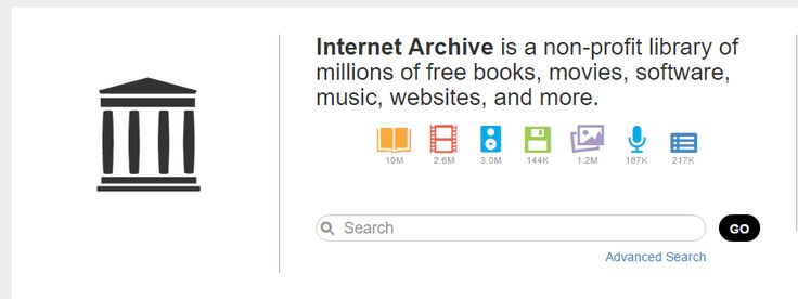 Archive search engine