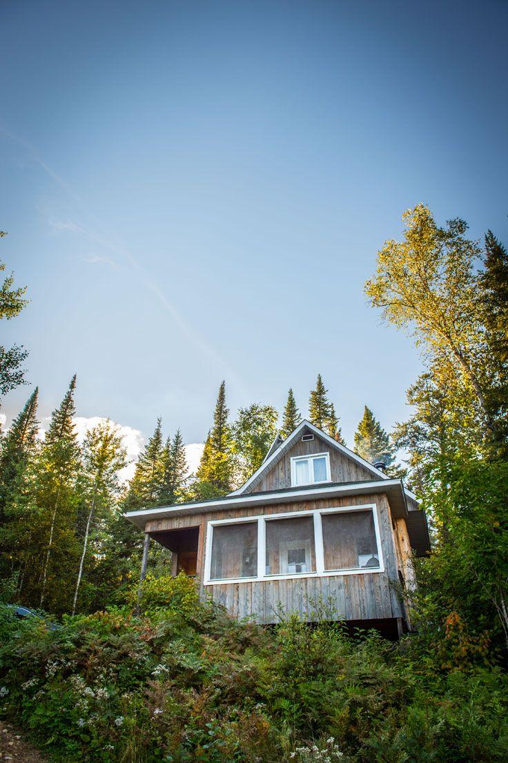 Fishing cabin - Pourvoirie du milieu, Lanaudière, Québec.