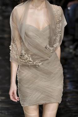 Chiffon Dress and Wrap