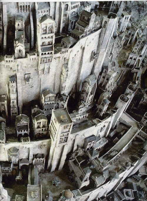 Lord of the Rings: The Return of the King | Jackson 2003 | Minas Tirith, White City of Gondor