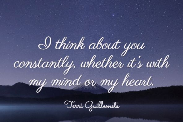 quotes about thinking of you