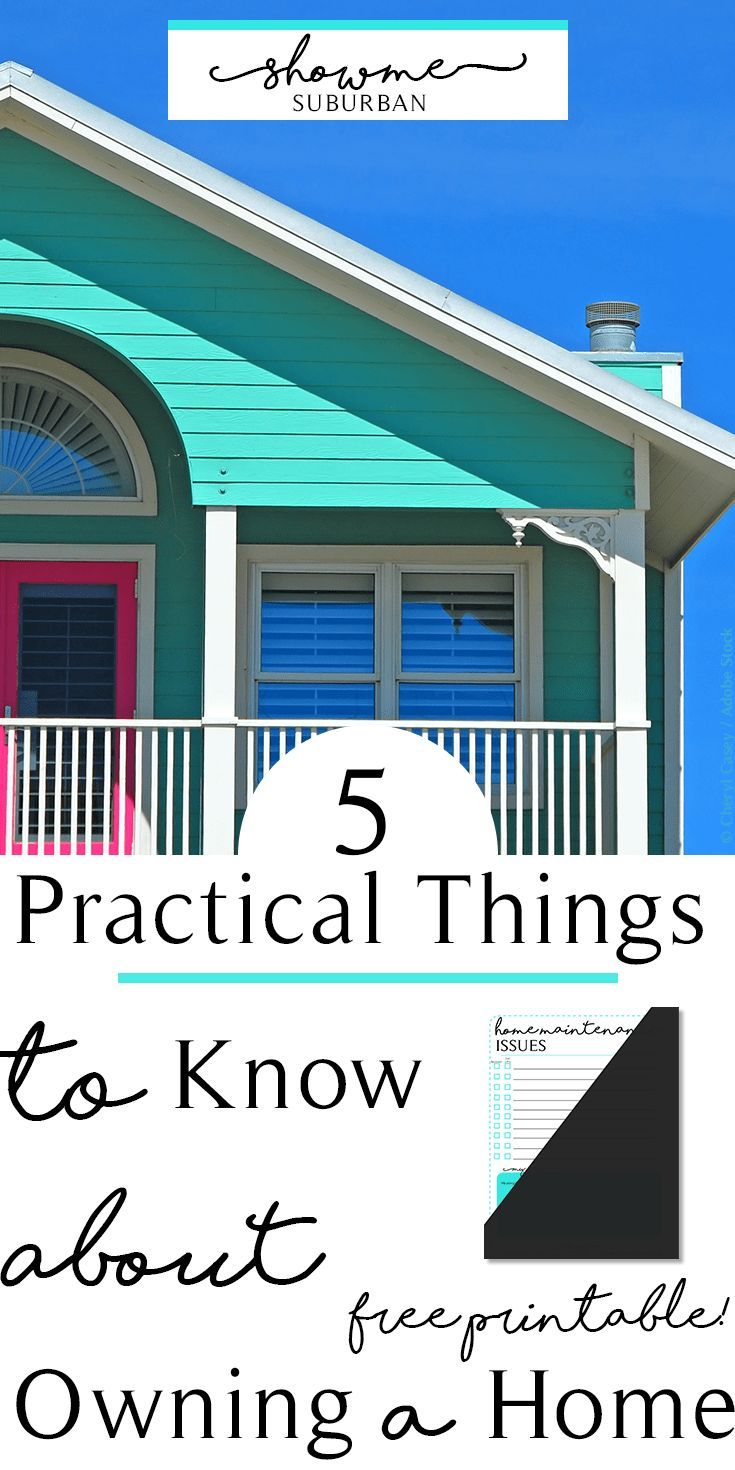 5 Practical Things To Know About Owning A Home Home Repairs