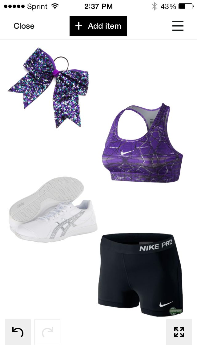Cheer outfit. Only a few more. I promise!