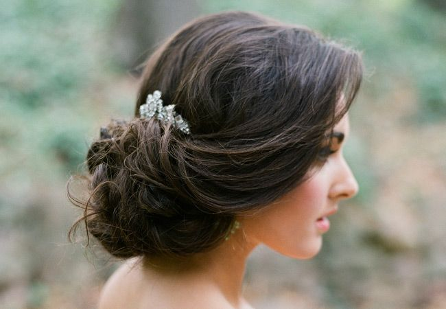 17 Best Ideas About Wedding Hairstyles On Pinterest: 17 Best Ideas About Low Bridal Updo On Pinterest