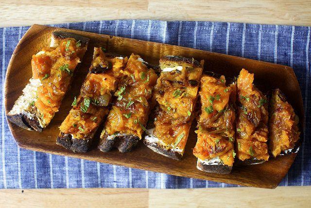 squash toasts with ricotta and cider vinegar – smitten kitchen