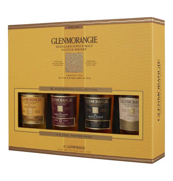 Glenmorangie Whisky Collection, 4 x 0,1l, Nectar D'or, Quinta Ruban, Lasanta und…