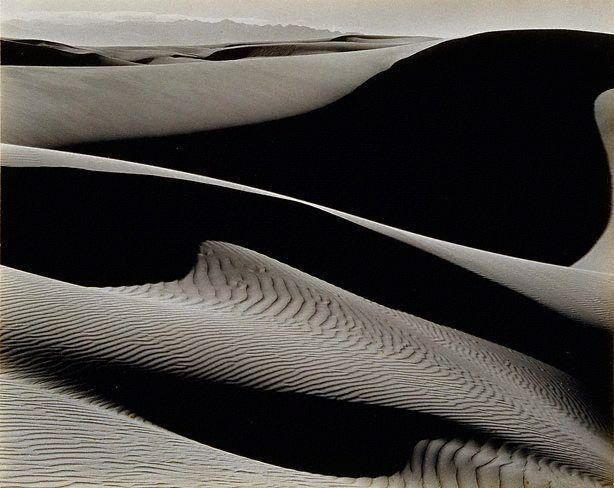 Edward WESTON :: Dunes {near Oceano, San Luis Obispo County, California, USA}, 1936
